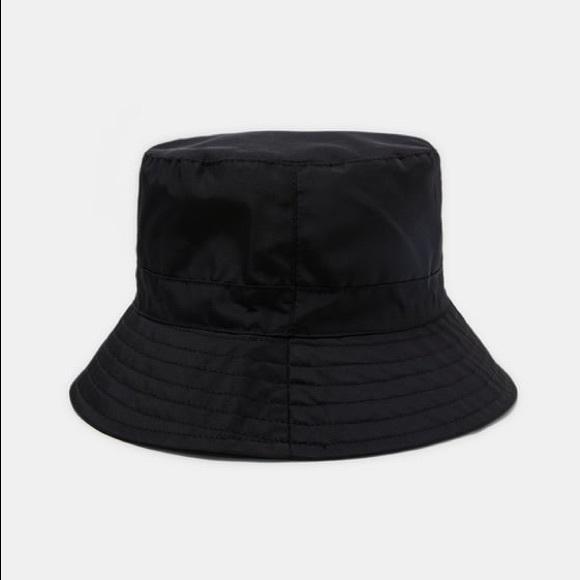 Zara black bucket rain hat 289a60a2900